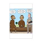 Monkey Business Mini Poster Print