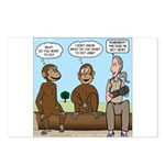 Monkey Business Postcards (Package of 8)