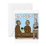 Monkey Business Greeting Cards (Pk of 20)