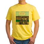 Monkey Hospitality Yellow T-Shirt