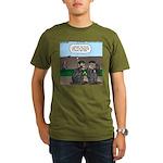 Monkey Hospitality Organic Men's T-Shirt (dark)