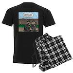 Monkey Hospitality Men's Dark Pajamas
