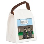 Monkey Hospitality Canvas Lunch Bag