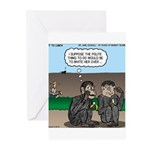 Monkey Hospitality Greeting Cards (Pk of 10)