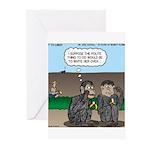 Monkey Hospitality Greeting Cards (Pk of 20)