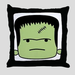 Adorable Frankenstein Throw Pillow