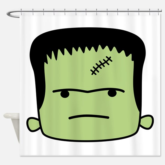 Adorable Frankenstein Shower Curtain