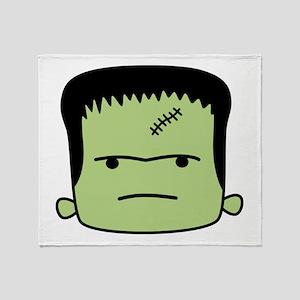 Adorable Frankenstein Throw Blanket