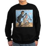 Monkey Grooming Sweatshirt (dark)