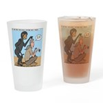 Monkey Grooming Drinking Glass