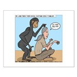 Monkey Grooming Small Poster
