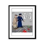Murder Mystery Framed Panel Print