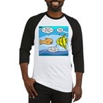 Stupid Fish Jokes Baseball Jersey