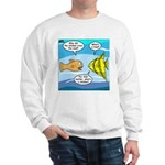 Stupid Fish Jokes Sweatshirt