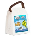 Stupid Fish Jokes Canvas Lunch Bag