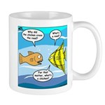 Stupid Fish Jokes Mug