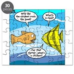 Stupid Fish Jokes Puzzle