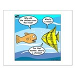 Stupid Fish Jokes Small Poster