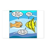 Stupid Fish Jokes Postcards (Package of 8)