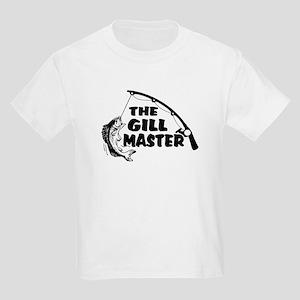Fisherman As The Gill Master Kids Light T-Shirt