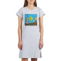 Fish Tank Diver Women's Nightshirt