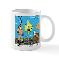 Fish Tank Diver Mug