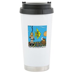 Fish Tank Diver Stainless Steel Travel Mug