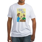 Fathers Day Discovery Fitted T-Shirt