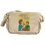 Fathers Day Discovery Messenger Bag
