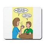 Fathers Day Discovery Mousepad