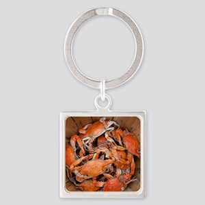 It's a Shore Thing Square Keychain