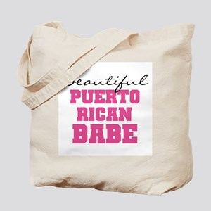 Puerto Rican Babe Tote Bag