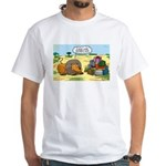 Lion Fathers Day White T-Shirt