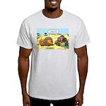 Lion Fathers Day Light T-Shirt