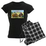 Lion Fathers Day Women's Dark Pajamas