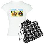 Lion Fathers Day Women's Light Pajamas