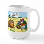 Lion Fathers Day Large Mug