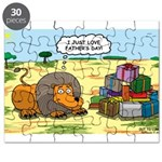 Lion Fathers Day Puzzle