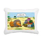 Lion Fathers Day Rectangular Canvas Pillow