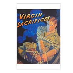Virgin Sacrifice Postcards (Package of 8