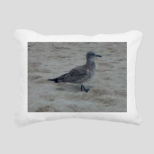 Shore Bird Rectangular Canvas Pillow