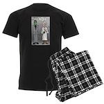 Frankenstein Fathers Day Men's Dark Pajamas