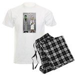 Frankenstein Fathers Day Men's Light Pajamas