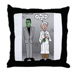 Frankenstein Fathers Day Throw Pillow