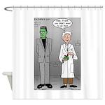 Frankenstein Fathers Day Shower Curtain