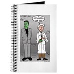 Frankenstein Fathers Day Journal