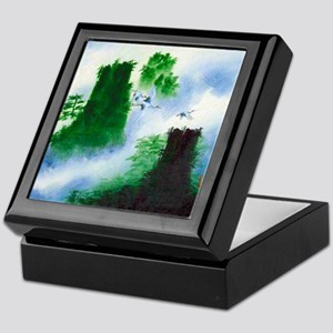 Oriental art Keepsake Box