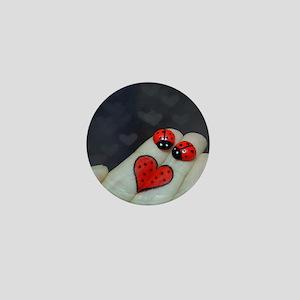 Love Bugs Mini Button