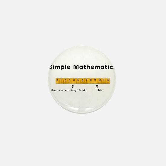 Simple Mathematics: Your Curr Mini Button