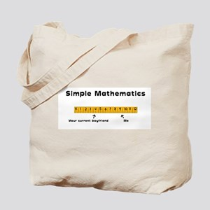 Simple Mathematics: Your Curr Tote Bag